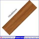 Azulejo de suelo de cerámica de madera para el material de construcción (VRW8N15232, 150X800m m)
