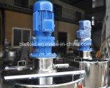 Réservoir de stockage vertical de jus de betteraves d'acier inoxydable avec le homogénisateur