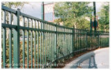 El mejor Venta caliente metálica de acero Jardín cercas de seguridad
