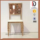 Нержавеющая сталь Gold-Plated Rose картины бабочки обедающ стул