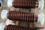 850kv isolateurs en porcelaine pour postes électriques de noyau creux