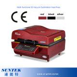 3D multifunción vacío sublimación prensa de calor