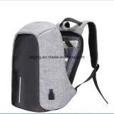 Bw1-103 для защиты от краж рюкзаки, вмещающему ЭБУ подушек безопасности Double-Shoulder зарядки через USB сумка для ноутбука