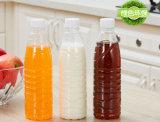 Plastik12oz milchflasche-Getränk-Wasser-Glas mit Kappe