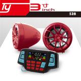 La moto MP3 avec Bluetooth et composent le numéro de téléphone