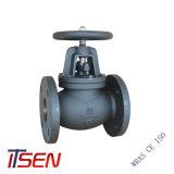 DIN/ANSI/API/Fundición fundición de acero/acero forjado extremo de la brida de la válvula de globo (apagado) para la PN10/16/25 y de la clase 150 de Ci/Di/Wcb/CS/SS/304/316/304L/316L/CF8/CF8M
