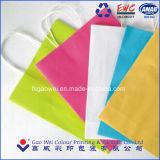 Les fabricants Wholsale recycler 130gsm à bon marché de l'artisanat du papier kraft Sac, Sac d'emballage en papier kraft