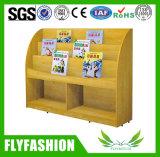 Het houten Moderne Boekenrek van Kinderen met Wielen (sf-114C)