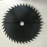 la circular 40t255X25.4 vio la lámina para el cortacéspedes de césped del condensador de ajuste de la hierba del cortador de cepillo