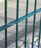 Material de acero de bajo carbono y de mallas electrosoldadas tipo doble valla de malla de alambre
