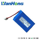 bateria do Li-Polímero de 7.4V 2000mAh 704060pl para o GPS