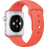 Appleの腕時計のシリコーンストラップのためのスポーツの置換の輪ゴム