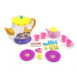 아이의 교육 플라스틱 부엌과 식기 차 세트 장난감