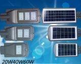 60W ha integrato tutti in una lampada di via solare del LED