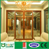 Дверь австралийского типа Pnoc080111ls французская с As2047/ISO/Ce