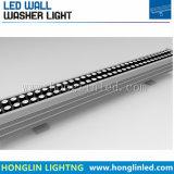 El paisaje exterior IP65 de iluminación LED 24W RGB LED bañador de pared