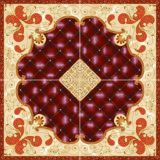 Baldosas azulejos Puzzle de porcelana en Uzbekistán (BDJ60173-5)