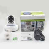 Cámara sin hilos de dos vías del IP del hogar de la seguridad PTZ del CCTV del audio con IR LED