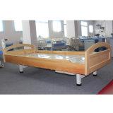 Nouveau modèle de deux lits de soins de manuel de la manivelle du patient
