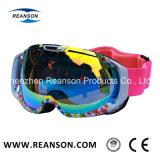 Lente de grande visão ampla Anti-Fog Corte UV óculos de esqui