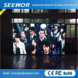 Slim Cabinet P6mm Indoor Rental LED Display Screen for Training course Performance