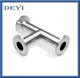 Gelijke T-stuk van de TriKlem van het roestvrij staal het Sanitaire (dy-T024)
