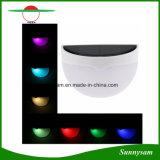 7 van de Veranderlijke RGB LEIDENE van de kleur Verlichting van de Weg van de Lamp van de Muur van de Tuin van de Goot van het Dak de OpenluchtOmheining van de ZonneMacht Lichte