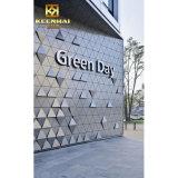 Фасадов здания Keenhai панель плакирования стены внешних декоративных алюминиевая