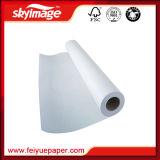papel seco rápido de antienrollamiento de traspaso térmico de la sublimación 80GSM