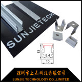 Eingehangenes LED Aluminium-Profil des China-Lieferanten-10*8.4mm Oberfläche
