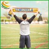 Полиэстер атласная бумага печать рекламных спортивной команды Кубка мира футбольных фанатов Шарфа