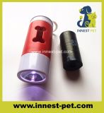 Dog Waste Cleaning Toilet Use를 위한 PP Plastic LED Light Bone Holder