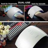 Sun9c 24W LED 손톱을%s 램프를 치료하는 UV 못 건조기