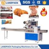 Macchina per l'imballaggio delle merci automatica del pane del Croissant
