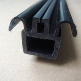 Weich-Hartes Koextrusion-Vorhangschiene-Plastikprofil für Windows