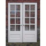 Woodwin puerta doble francesa de aluminio de 55 series