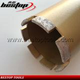 Diamond лазерной сварки Бетон основных буровых долот для армированного бетона