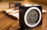 De digitale LCD van de Klok Klok van de Lijst van de Kubus van de Vertoning met Temperatuur