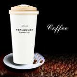 culbuteur de café de Starbucks Termos de tasse de course de l'acier inoxydable 500ml