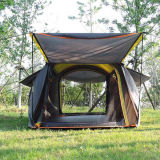 Trade Show 2 Pessoa Family Camping Tenda Pop-up de dobragem