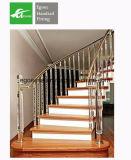 Diseño de lujo Baranda Escalera de acero inoxidable fundido Baluster