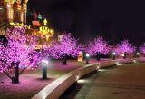 庭の装飾のための人工的なLEDの桜の木ライト