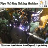Tubulação de aço redonda quadrada automática que faz a máquina