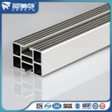 Perfil de aluminio de la alta calidad del OEM 6063t5 con la superficie anodizada plata
