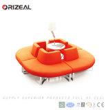 Sofà sezionale modulare dell'ufficio dell'interno moderno contemporaneo europeo poco costoso del tessuto di Orizeal (OZ-OSF024)