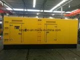 Venta caliente en silencio generador diesel de 300kw precio competitivo de 3 años gratis servicios