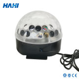 Sfera chiara senza fili della discoteca del cristallo LED del LED Bluetooth mini