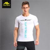 人のCompresssionの摩耗の速い乾燥したワイシャツ