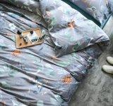 Luxuosa roupa de cama 100% algodão define (Gem, Cinza)