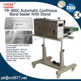 Selladora de banda continua automático con soporte para picar (FR-900C)
